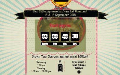Het BBQKampioenschap 17-19 September 2021 Belgien